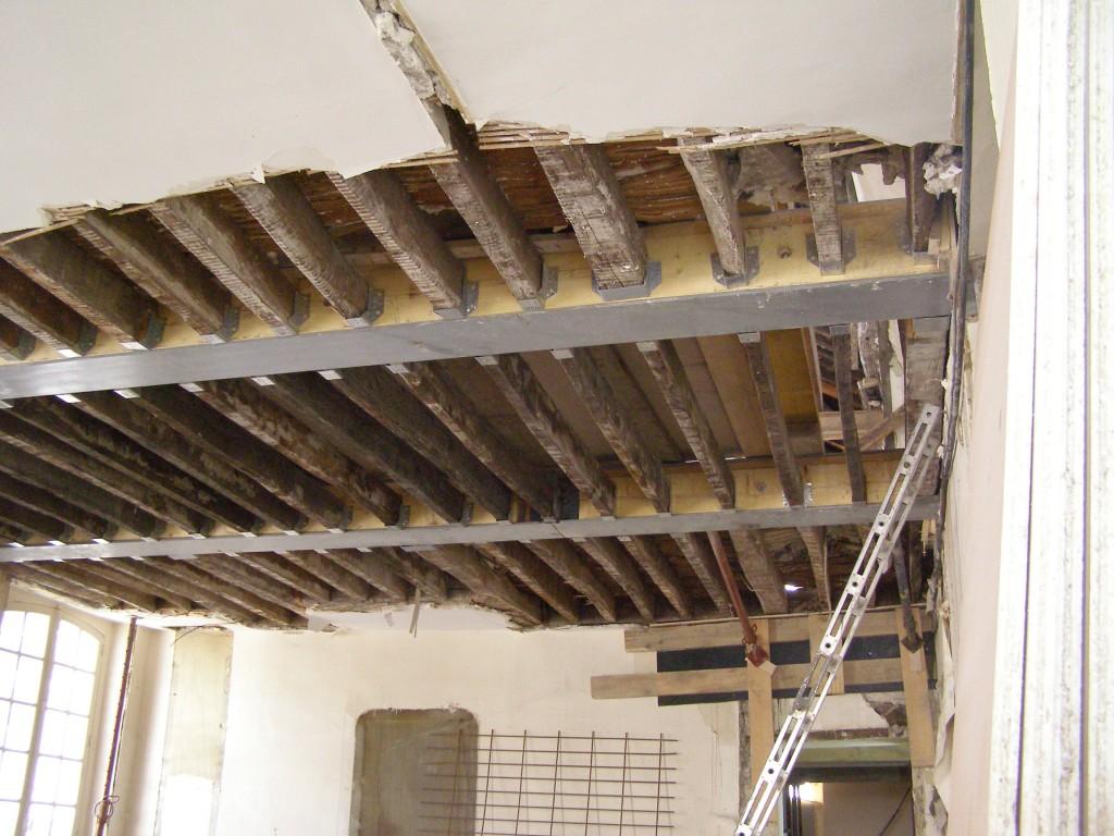 Immeuble parisien for Plancher bois pour mezzanine