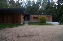 Extension d'une maison au Mesle