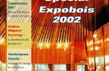 Article – Journal » Charpente, menuiserie, parquets» n°104 de Mars 2002 – Spécial Expobois 2002