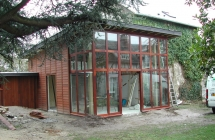 Extension en ossature bois – La Croix-Saint-Leufroy (27)
